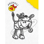 Clear Stamp - Animals Series - Cow-Boy