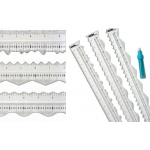 Perfect Tears Ruler - 3 Tool Set