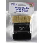 Nellie's Choice Mixed Media Wide Brush 7.8Cm (3 Inch)