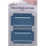 Nellie's Choice Mixed Media Art Combs