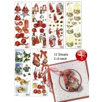 3D Christmas Cutting Pack