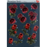 3D Premiumserie, 6 pcs Flowers 05 Cutting Sheets