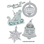 Christmas & Lace Baubles