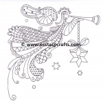 Marianne Design  Clear Stamp: Doodle Angel