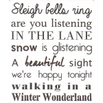 Marianne Design Christmas Carol - Winter Wonderland Stamp
