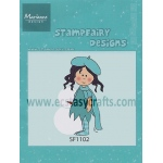 Stampfairy Cling Stamp - Betty Winter