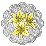 Clear Stamps - Lilies
