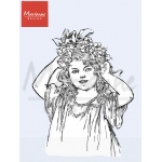 Clear Stamp - Marianne - Vintage - Lady