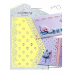 Embossing Romance Stencil Flowers (EH1843)