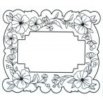 Creative Expressions Ce Foam Stamps - Island Garden