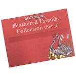 Clarity Stamps - Feathered Friends Postcard Series #3
