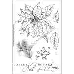 Bonnidée Stamps - Poinsettia 1 Fr.