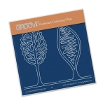 Groovi Abstact Trees A6 Baby Plate