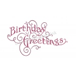 Frog's Whiskers Stamps - Fancy Birthday Greeting