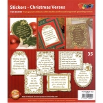 Christmas Poems & Verses Gold/Silver: Transparent Silver