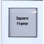 Pontura Foam Paint Frames - Square