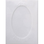 Pontura  Card Set -3 Cards/envelopes - Oval - 1