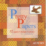 Iris Folding Pretty Papers (32 Sheets) Autumn