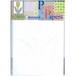 Pretty Papers Precut Cards for Paper Folding Tulip