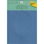 Spirelli  Cards/templates Oval Denim & Lilac (sp2530)