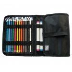 "Prat Paris Start SMWC-24 Multi-Media Wallet Size: 19"" x 8"" - Black"