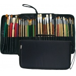 "Prat Paris Start Expandable Brush Case Size: 15"" x 6.5"" x 1.5"" - Black"