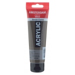 Royal Talens Amsterdam® All Acrylic Standard Series 120ml Raw Umber: Brown, Tube, 120 ml, Acrylic, (model 17094082), price per tube