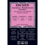 "Arches® 51"" x 10yd 156 lb./356g Watercolor Hot Press Roll Natural White : White/Ivory, Roll, 51"" x 10 yd, Hot Press, 156 lb, (model 1710272), price per roll"