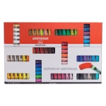 Royal Talens Amsterdam® All Acrylics Standard Series 72-Color Paint Set 20ml: Multi, Tube, 120 ml, Acrylic, (model 17820472), price per set