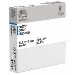 "Winsor & Newton™  Cotton Canvas 4"" x 4"": White/Ivory, Panel, Cotton, 4"" x 4"", Acrylic, Oil, (model 6201038), price per each"