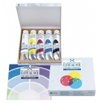 Talens® Gouache 5-Color Set: Multi, Tube, 20 ml, Gouache, (model 8820407), price per each