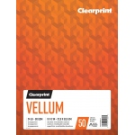 "Clearprint® Vellum 9"" x 12"": 50 Sheets, 9"" x 12"", (model C26321501011), price per each"