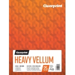 "Clearprint® Heavy Vellum 9"" x 12"": 25 Sheets, 9"" x 12"", (model C26321511011), price per each"