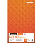 "Clearprint® 1000H®8 Fade-Out Vellum 11"" x 17"": Book, 4"" x 4"", 50 Sheets, 8.5"" x 11"", (model C26321641511), price per each"