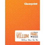 "Clearprint® Field Book Plain 8.5"" x 11"": Book, 50 Sheets, 8.5"" x 11"", (model CVB8511P2), price per each"