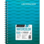 "Grumbacher® Cold Press Watercolor Paper Wirebound 7"" x 10"": 12 Sheets, 7"" x 10"", Watercolor, (model G26460600613), price per each"