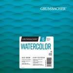 "Grumbacher® Cold Press Watercolor Paper Fold Over 8"" x 8"": 15 Sheets, 8"" x 8"", Watercolor, (model G26460600711), price per each"