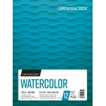 "Grumbacher® Cold Press Watercolor Paper Fold Over 9"" x 12"": 12 Sheets, 9"" x 12"", Watercolor, (model G26460601011), price per each"