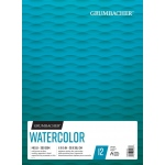 "Grumbacher® Cold Press Watercolor Paper Fold Over 11"" x 15"": 12 Sheets, 11"" x 15"", Watercolor, (model G26460601411), price per each"