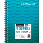 "Grumbacher® Mixed Media Paper 7"" x 10"": 50 Sheets, 7"" x 10"", Mix Media, (model G26460700613), price per each"
