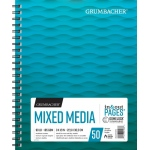 "Grumbacher® Mixed Media Paper 9"" x 12"": 50 Sheets, 9"" x 12"", Mix Media, (model G26460701013), price per each"