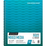 "Grumbacher® Mixed Media Paper 11"" x 14"": 50 Sheets, 11"" x 14"", Mix Media, (model G26460701313), price per each"
