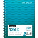 "Grumbacher® Acrylic Paper 9"" x 12"": 15 Sheets, 9"" x 12"", Acrylic, (model G26460801013), price per each"