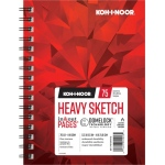 "Koh-I-Noor® Heavy Sketch Paper 5.5"" x 8.5"": 75 Sheets, 5.5"" x 8.5"", 70 lb, (model K26170100413), price per each"