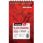 "Koh-I-Noor® Black Drawing Paper 5.5"" x 8.5"": 30 Sheets, 5.5"" x 8.5"", 70 lb, (model K26170220412), price per each"