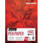 "Koh-I-Noor® Pen Paper 9"" x 12"": 60 Sheets, 9"" x 12"", 80 lb, (model K26170501015), price per each"