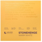 "Stonehenge® Warm White Pads: White/Ivory, 8"" x 8"", 250 g, (model L21-STP250WW88), price per each"