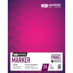 "Chartpak® AD™ Marker Pad 11"" x 14"": White/Ivory, 24 Sheets, 11"" x 14"", (model M26061301315), price per each"