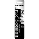 MOLOTOW™ Mirror Effect Alcohol Marker 1mm: Black/Gray, Alcohol-Based, 1mm, (model M703101BC), price per each