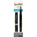 Speedball® Calligraphy Fountain Pen 1.1mm Nib: Black/Gray, Fountain, 1.1mm, Calligraphy, (model S2900), price per set